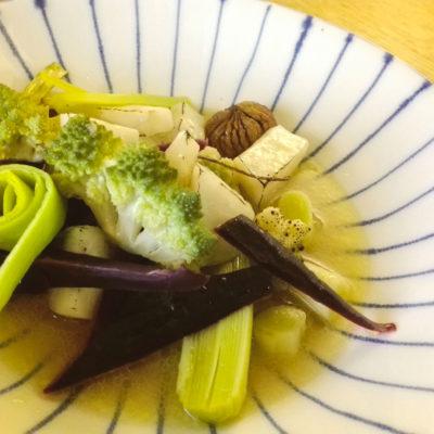 légumes d'hiver en bouillon