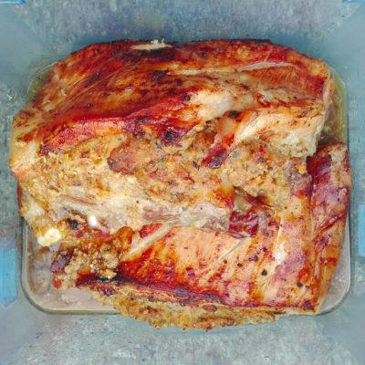 échine de porc farcie aux fruits secs