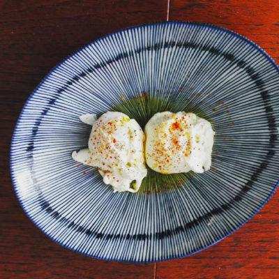 œufs pochés au piment d'Espelette