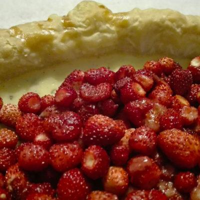 tarte aux fraises sauvages