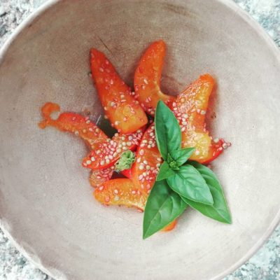 abricots - basilique - sésame